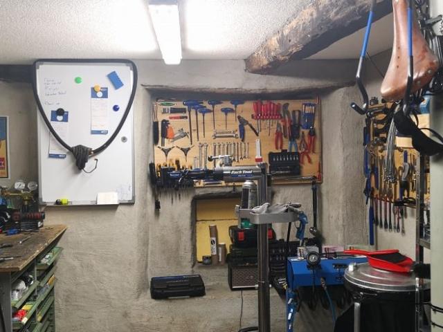 Velomex Werkstatt
